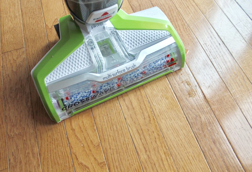 Yes Vacuuming And Washing Floors Can Be Done In One Step Ay Here S The Bis Crosswave All Multi Surface Cleaner Action