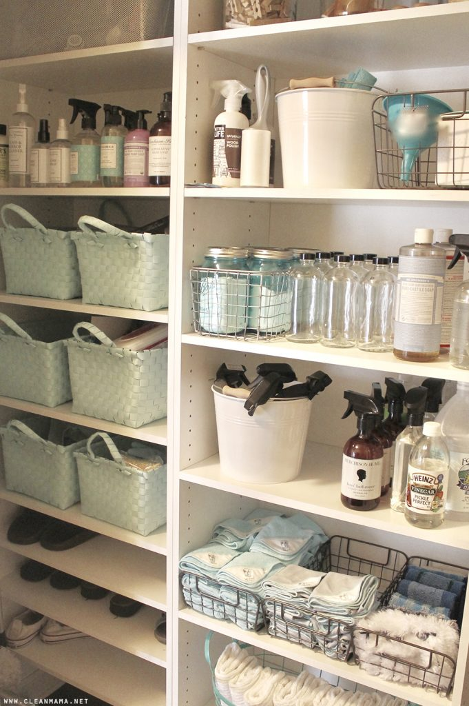 Bedroom Cupboard Shelf Organizer