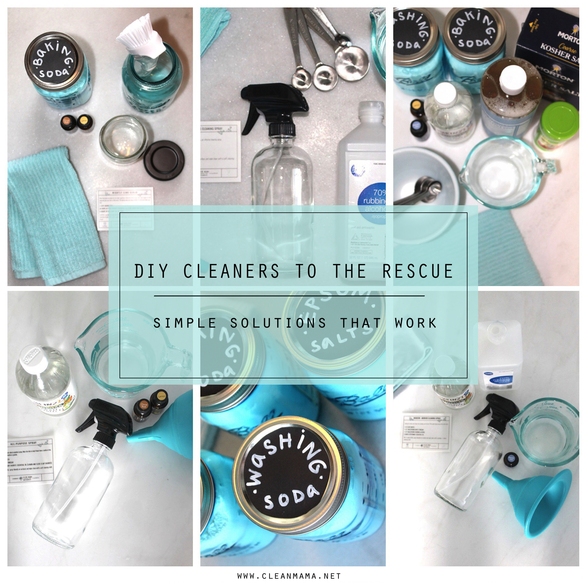 DIY Cleaners to the Rescue