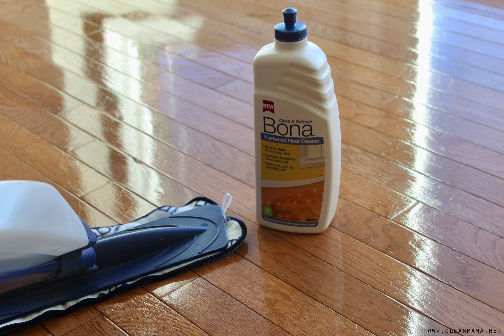 Bona Hardwood Floor Cleaner Clean Mama Clean Mama - How to refresh hardwood floors