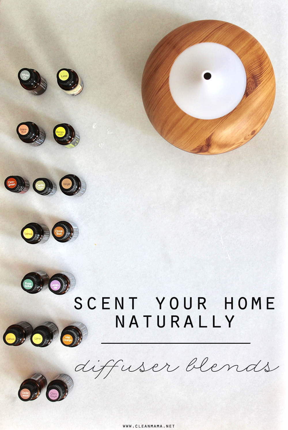 Scent Your Home Naturally Diffuser Blends Clean Mama
