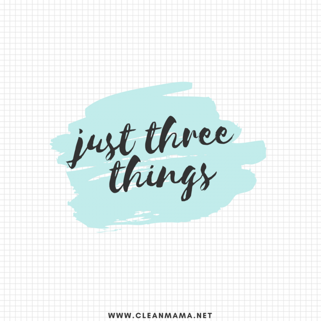 Just 3 Things : Episode 3