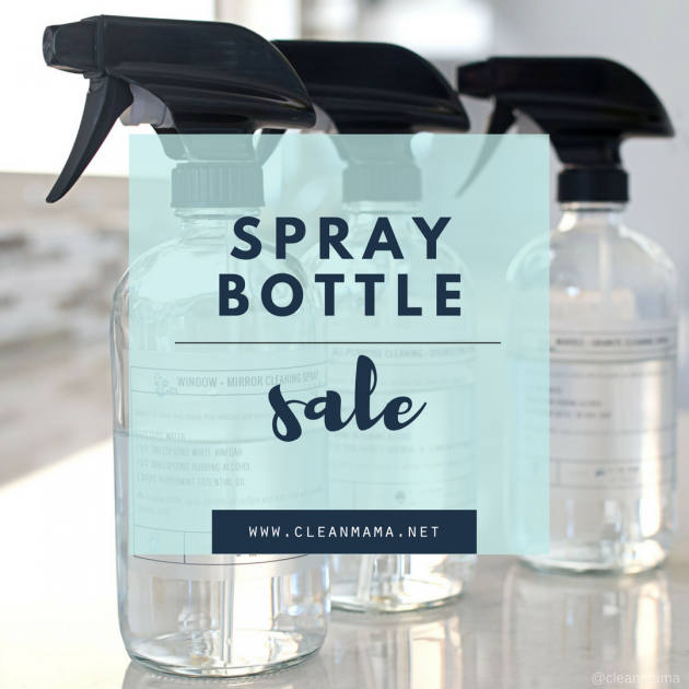 Spray Bottle Sale – 2 days only!