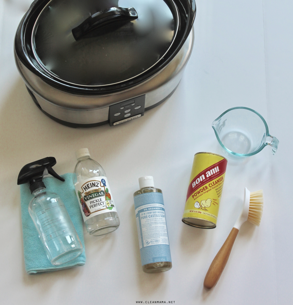 Cleaning materials | Slow Cooker HacksFor Every Household