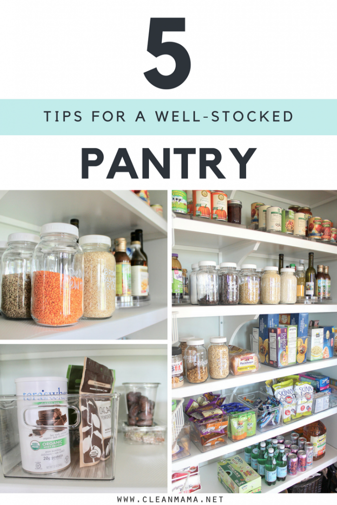 5 Tips for a Well-Stocked Pantry