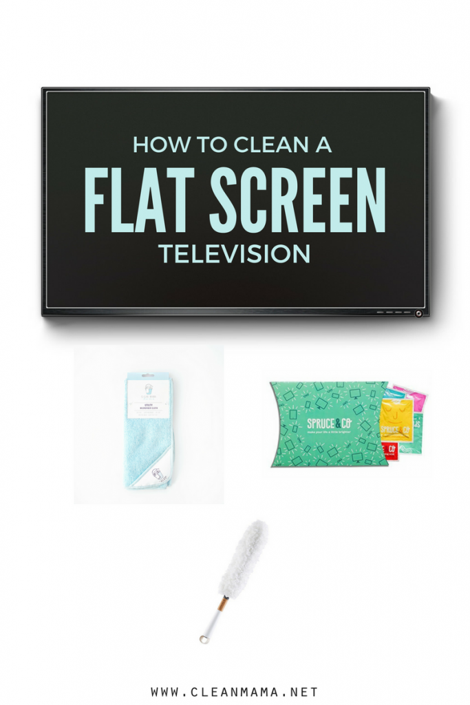 How to Clean a Flat Screen Television