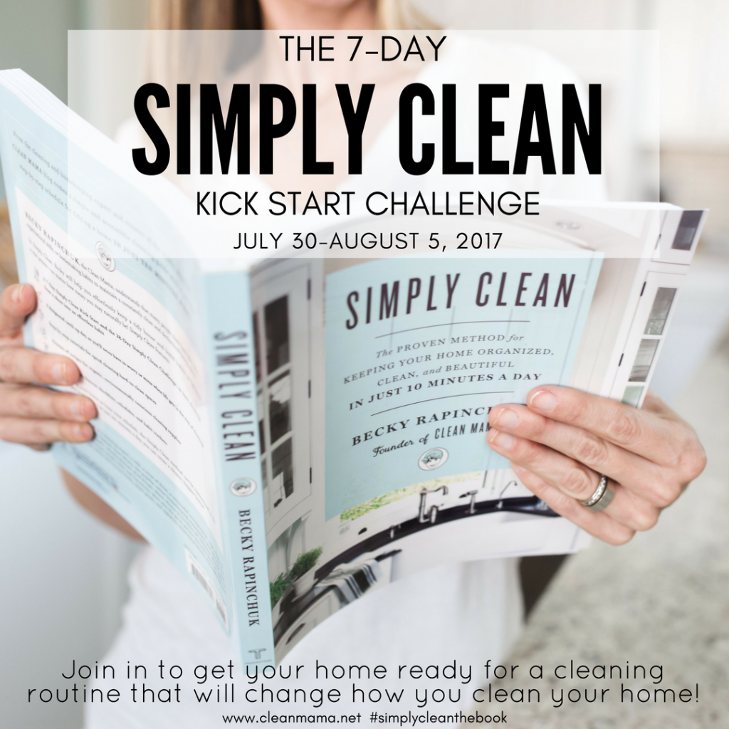 7-Day SIMPLY CLEAN Kick Start Challenge