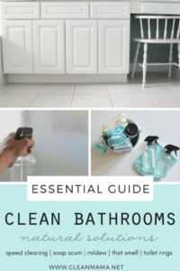 The Essential Guide – Clean Bathrooms