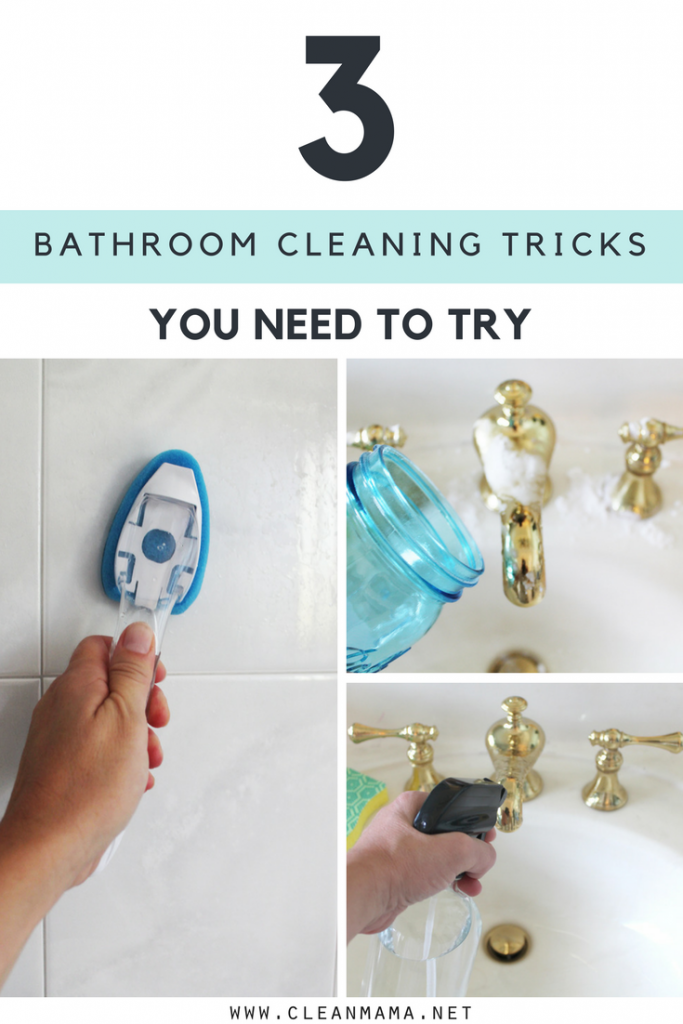 3 Bathroom Cleaning Tricks You Need to Try