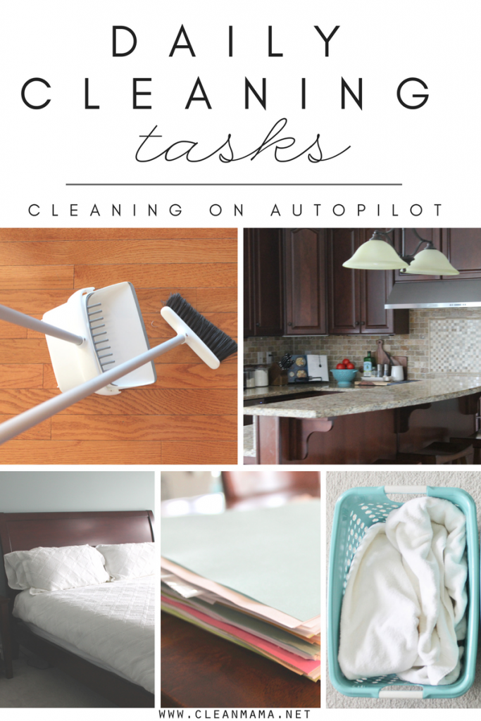 Daily Cleaning Tasks + a Video
