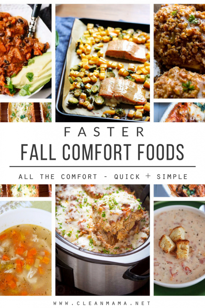 Faster Fall Comfort Foods