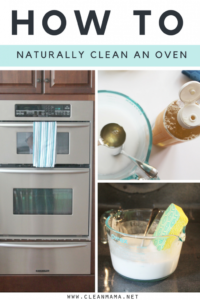 How to Naturally Clean an Oven