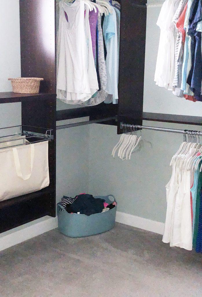 Turquoise Bedroom Bin