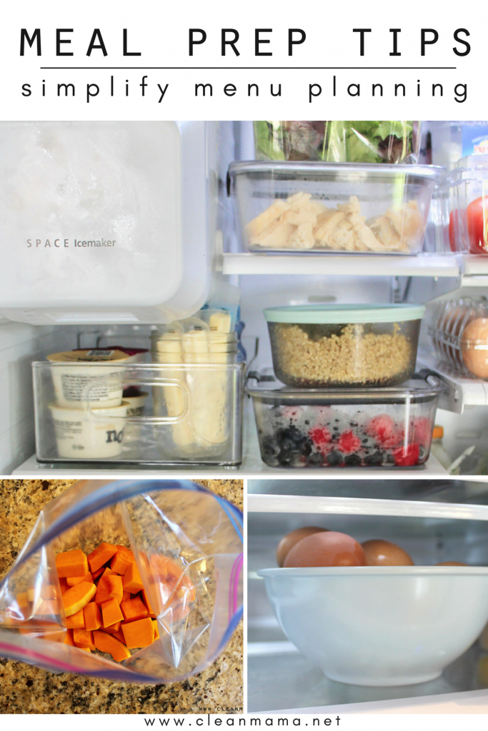 Meal Prep Tips to Simplify Menu Planning