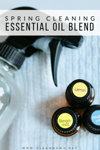 The Perfect Spring Cleaning Essential Oil Blend