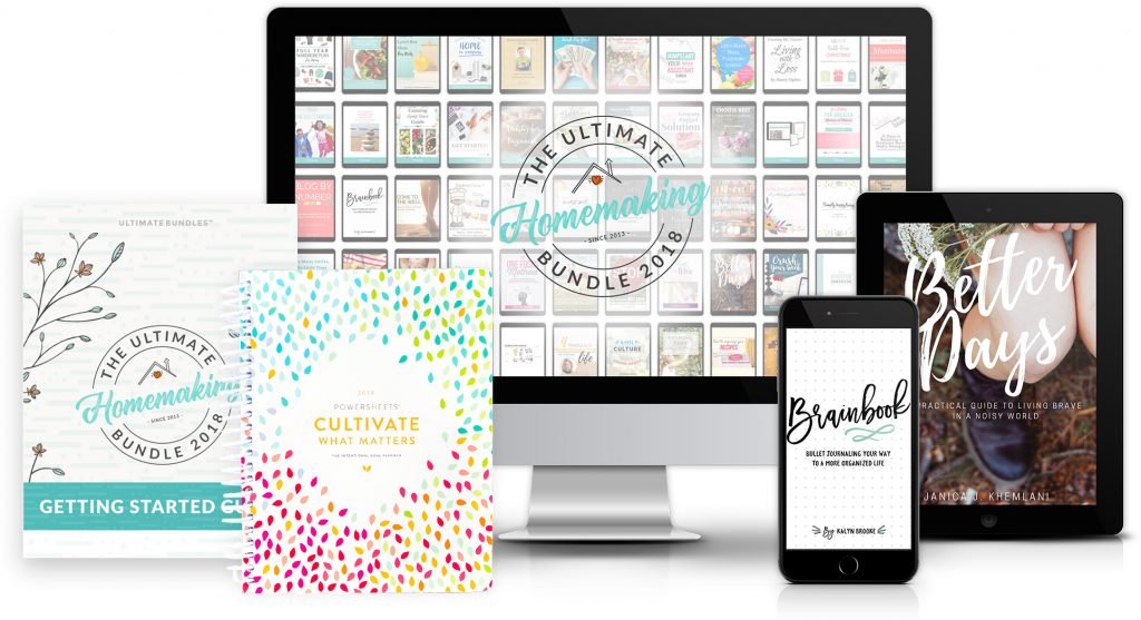 ENDED! The 2018 Ultimate Homemaking Bundle