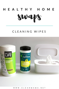 Healthy Home Swaps : Cleaning Wipes