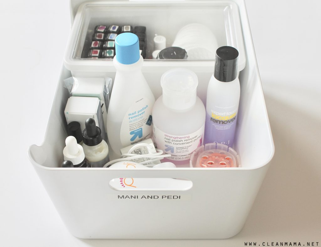 B r author at clean mama heres where the easy part comes in put the nail polishes in one small box or bin that will fit your polishes fandeluxe Images