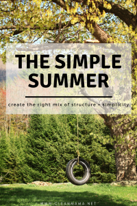 The Simple Summer – How to Create the Right Mix of Structure + Simplicity