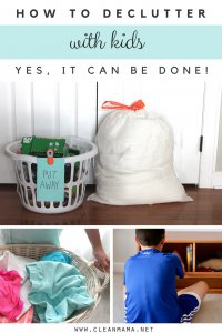 How to Declutter with Kids (yes, it can be done!)