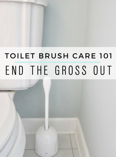 Toilet Brush Care 101 : End the Gross Out