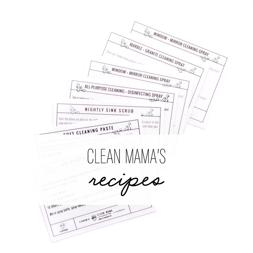 clean mama's recipes