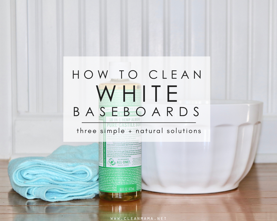 How to Clean White Baseboards – Clean Mama