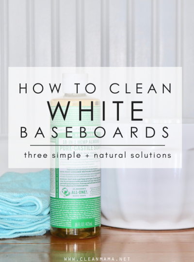 How to Clean White Baseboards