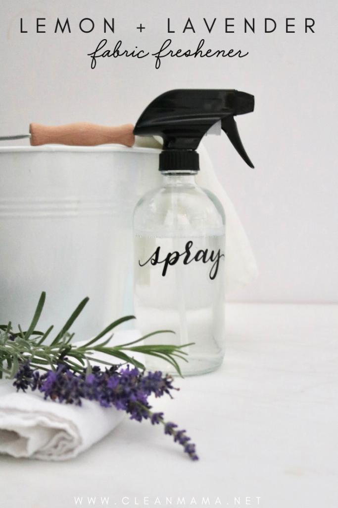 Lemon + Lavender Fabric Freshener Spray