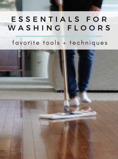 Essentials for Washing Floors