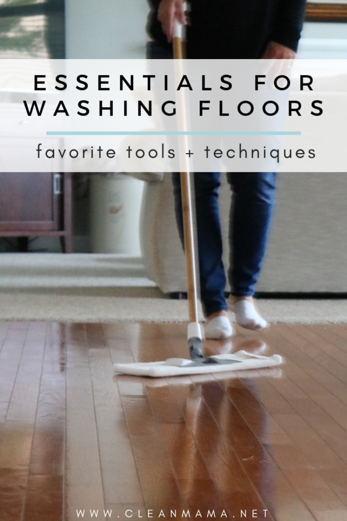Essentials for Washing Floors – Clean Mama