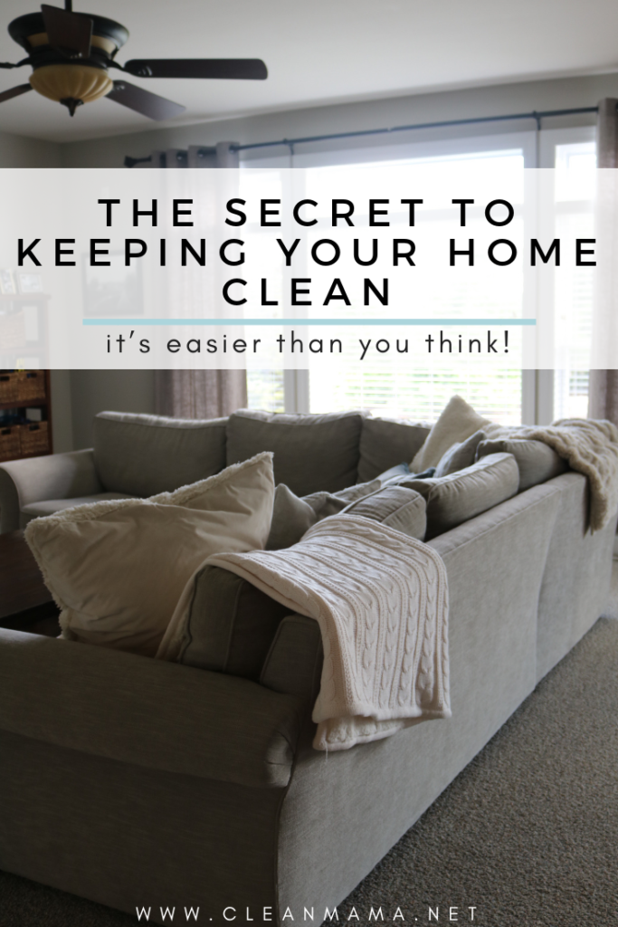 With A Le Like How To Keep Your Home Clean You Might Expect The Secret Be Weekly Cleaning Crew Throwing All Of Belongings Away