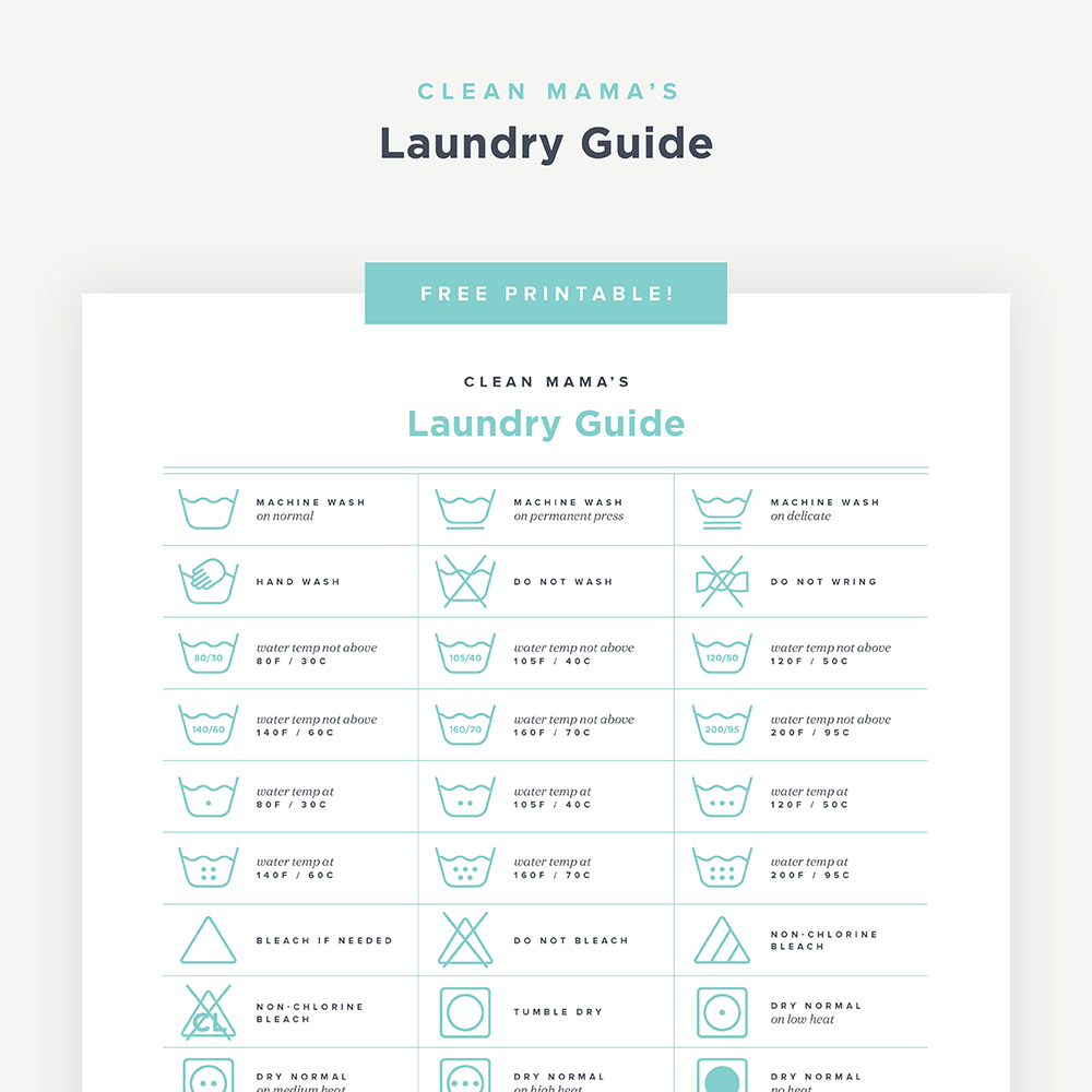 photo relating to Printable Guide referred to as Cost-free Printable : Laundry Specialist Refreshing Mama