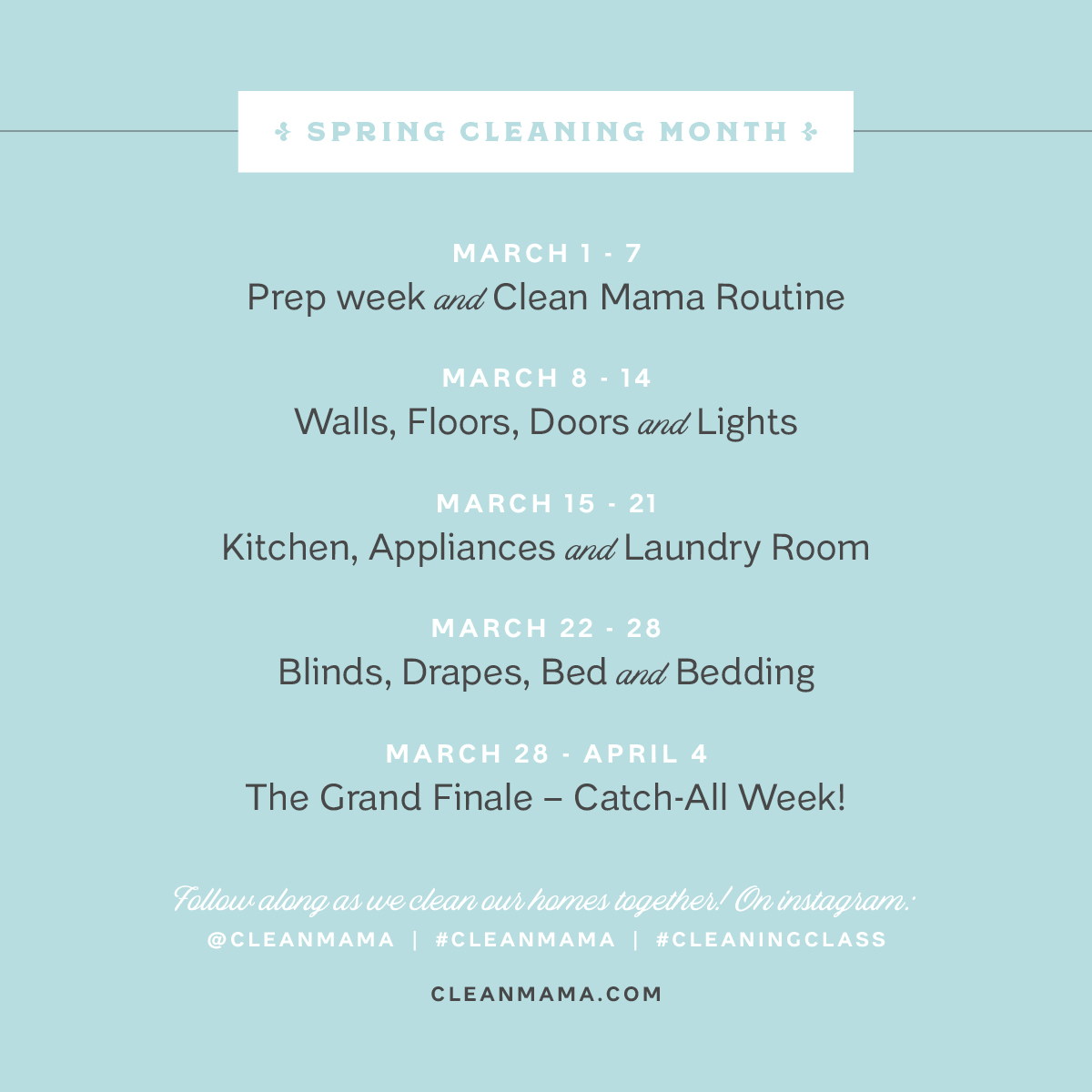 Spring Cleaning Month Blinds Drapes Bed And Bedding Clean Mama