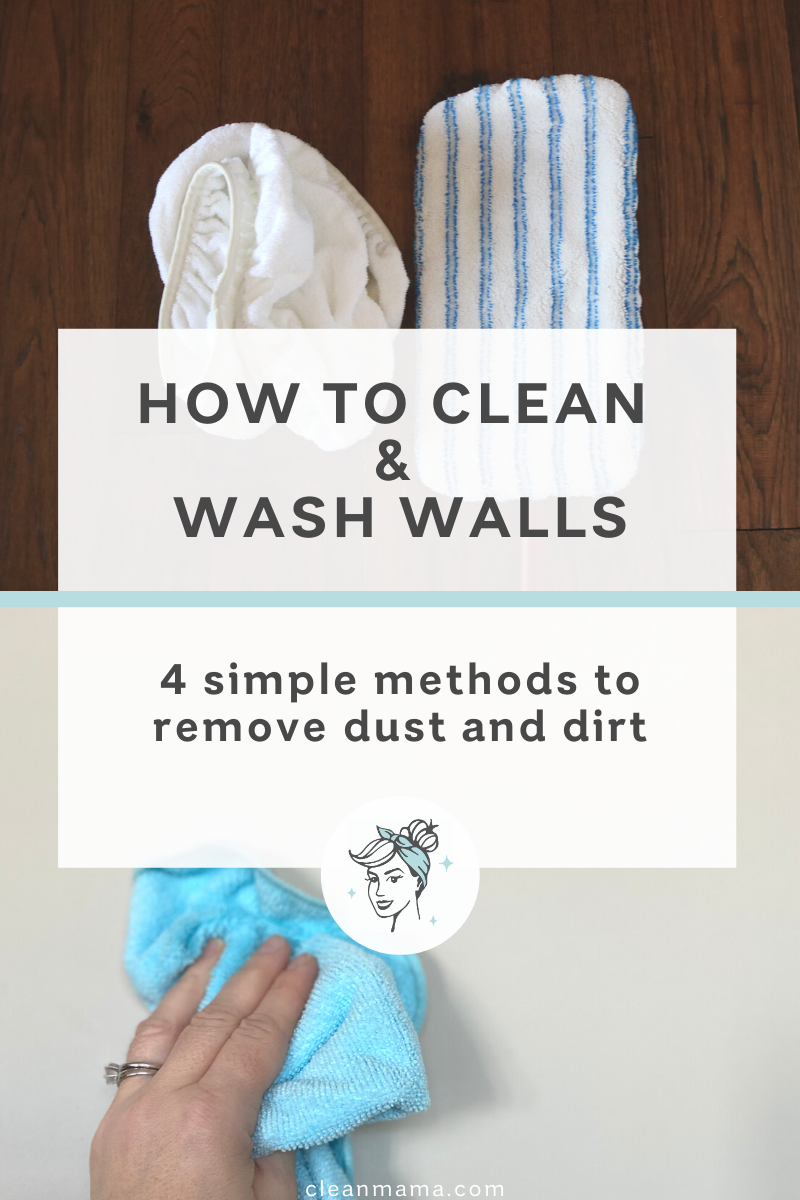 How To Clean And Wash Walls Clean Mama