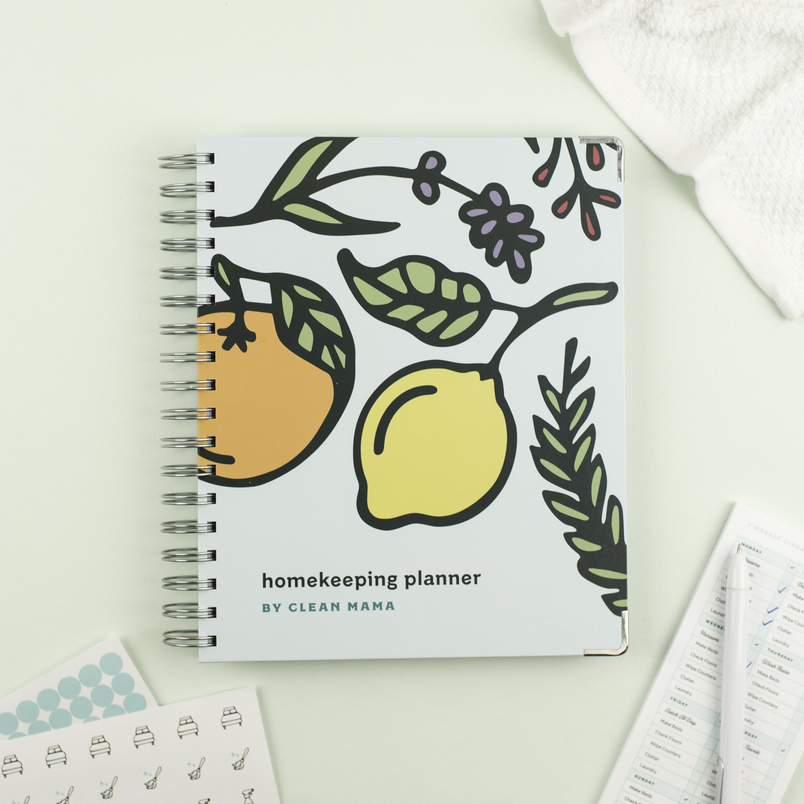 Pre-Order The Clean Mama Homekeeping Planner®