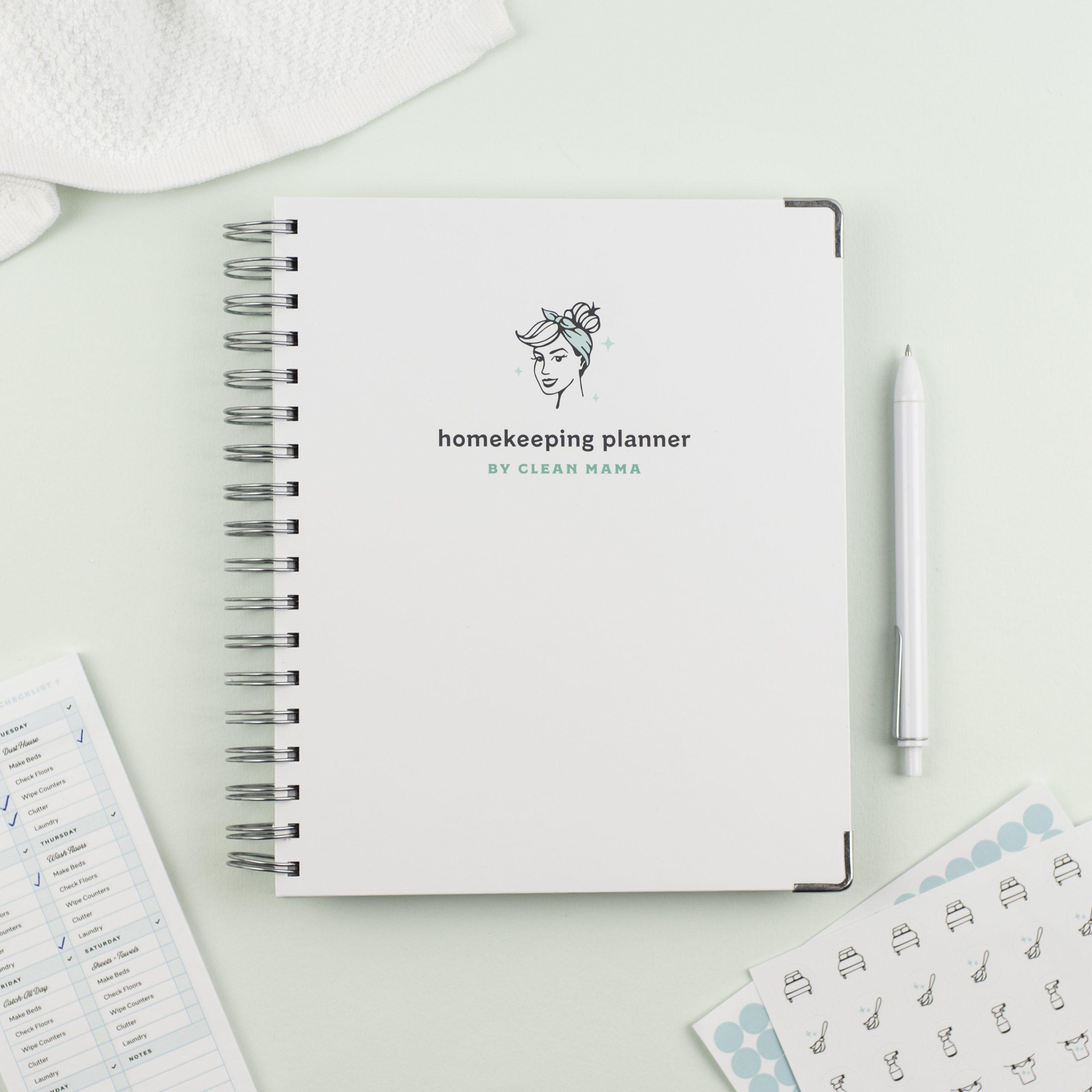 Order Clean Mama's Homekeeping Planner®
