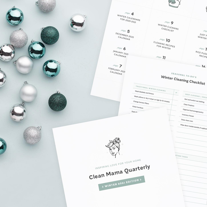 Clean Mama Quarterly –Winter 2021 Edition