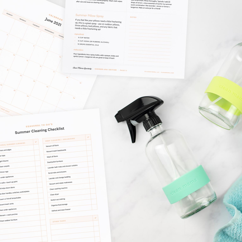 Clean Mama Quarterly –Summer 2021 Edition