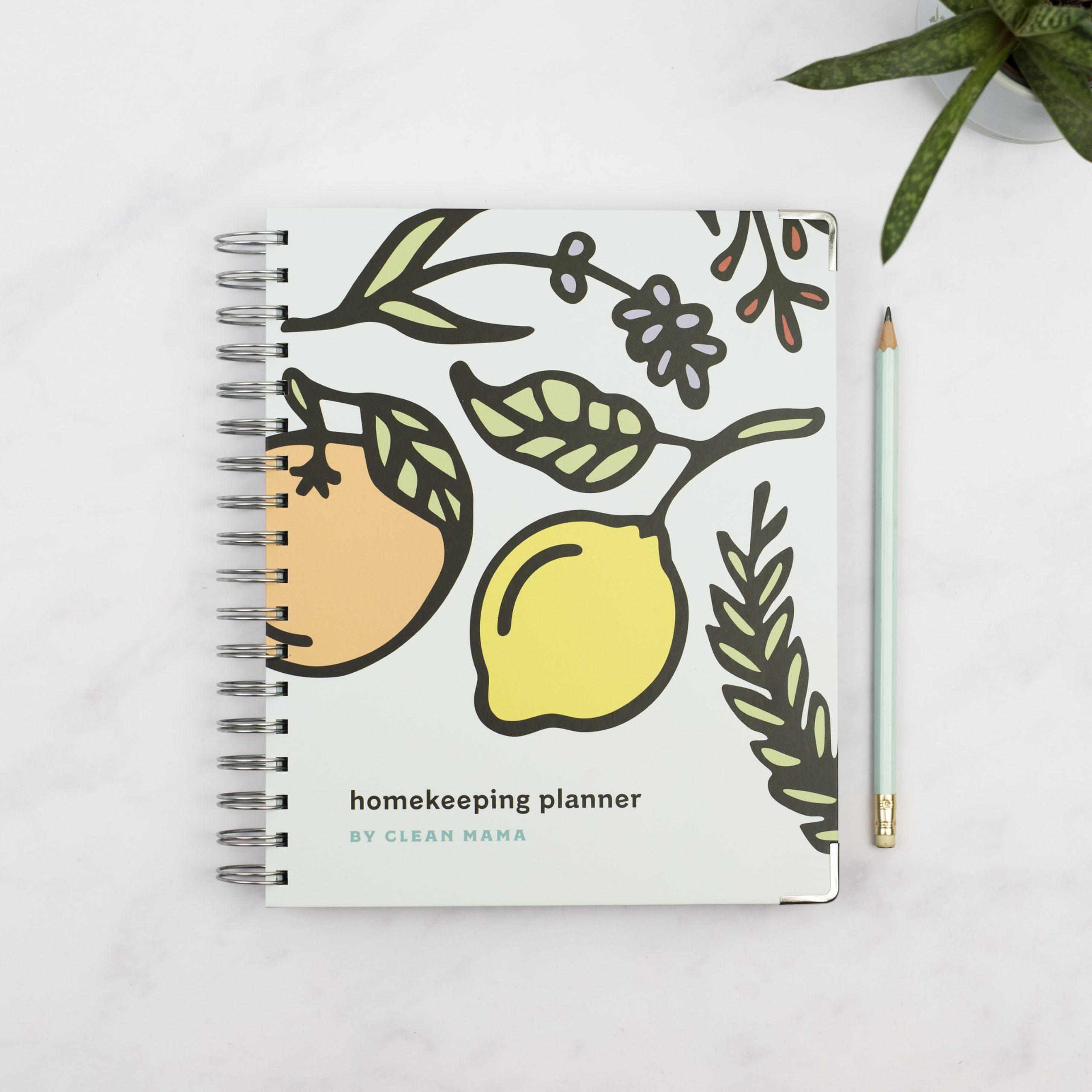 Clean Mama Homekeeping Planner® - Citrus