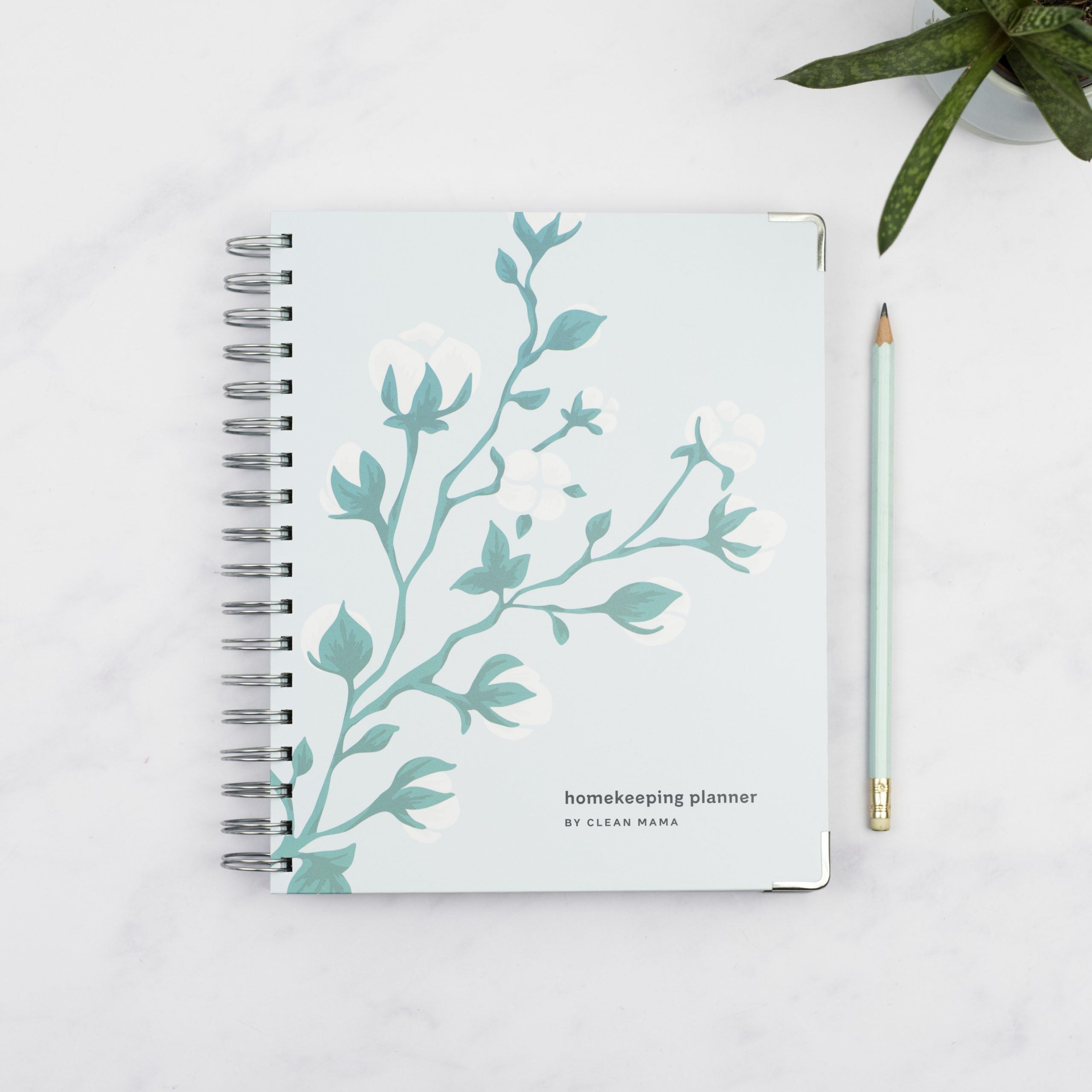 Clean Mama Homekeeping Planner® - Cotton Blossom